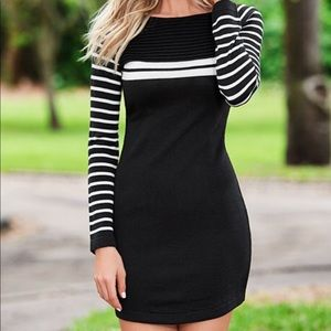 3 for $20 Stripe Sweater Dress